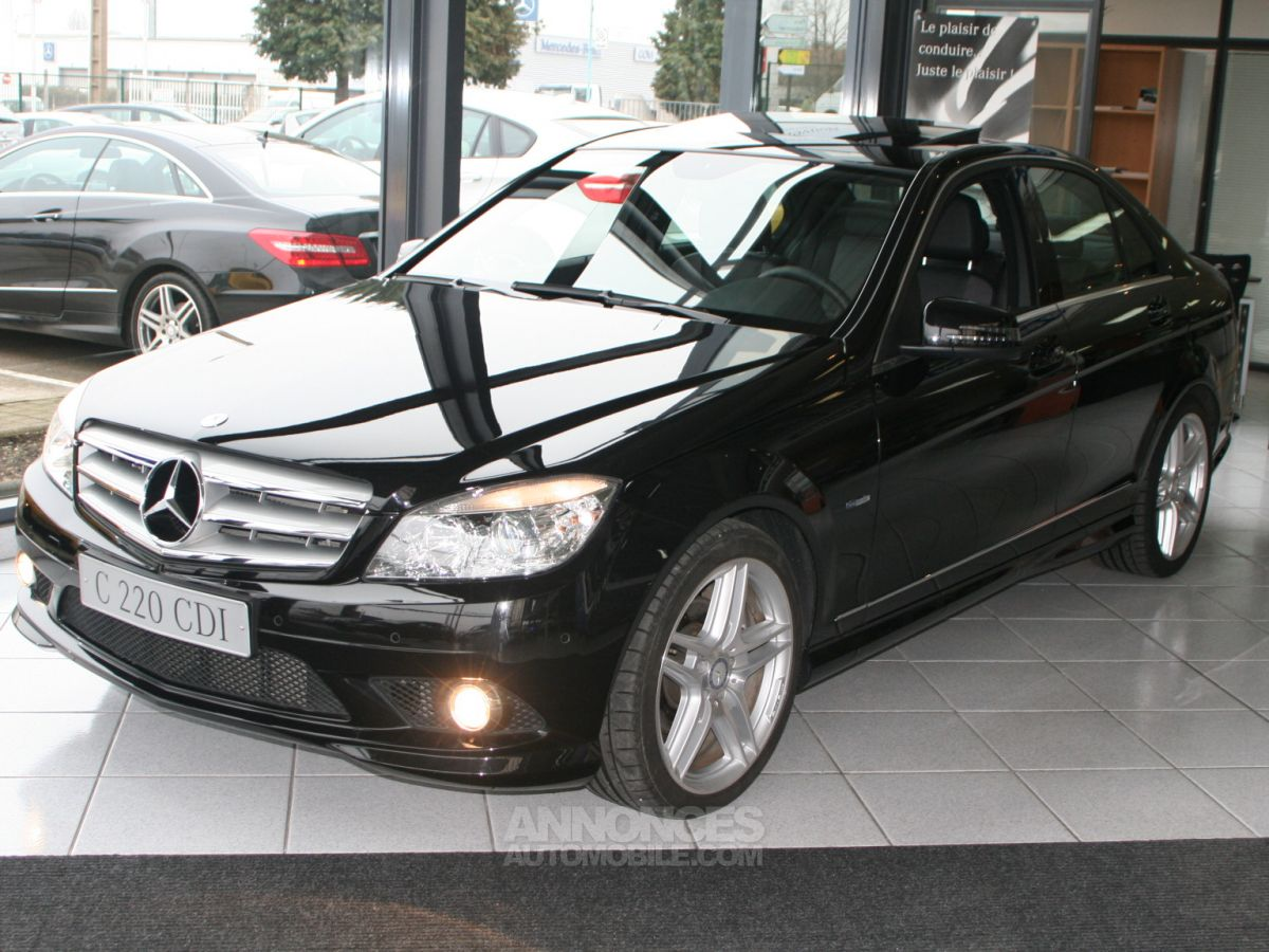 Mercedes Classe C 220 Cdi Pack Amg Noir