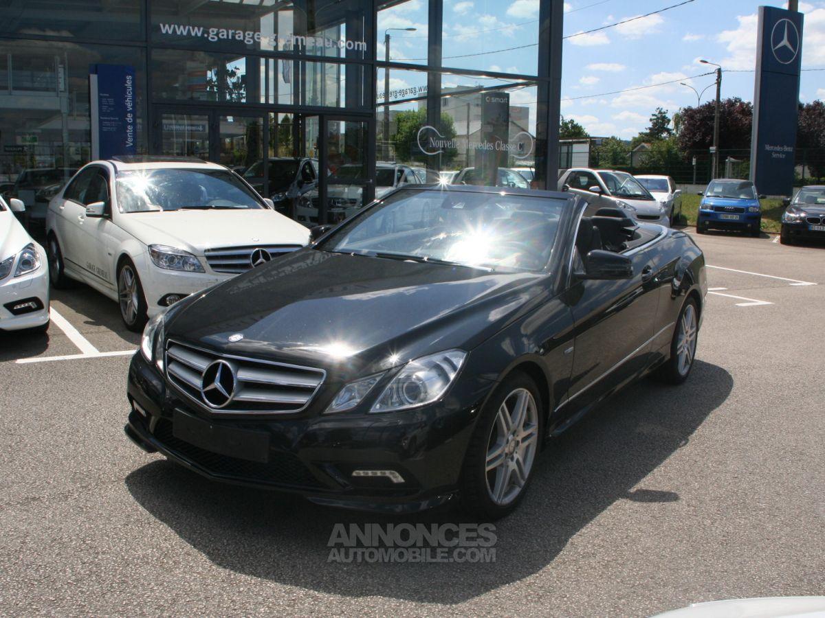 Mercedes Classe E 350 Cdi Blue Efficiency Pack Amg Noir Occasion