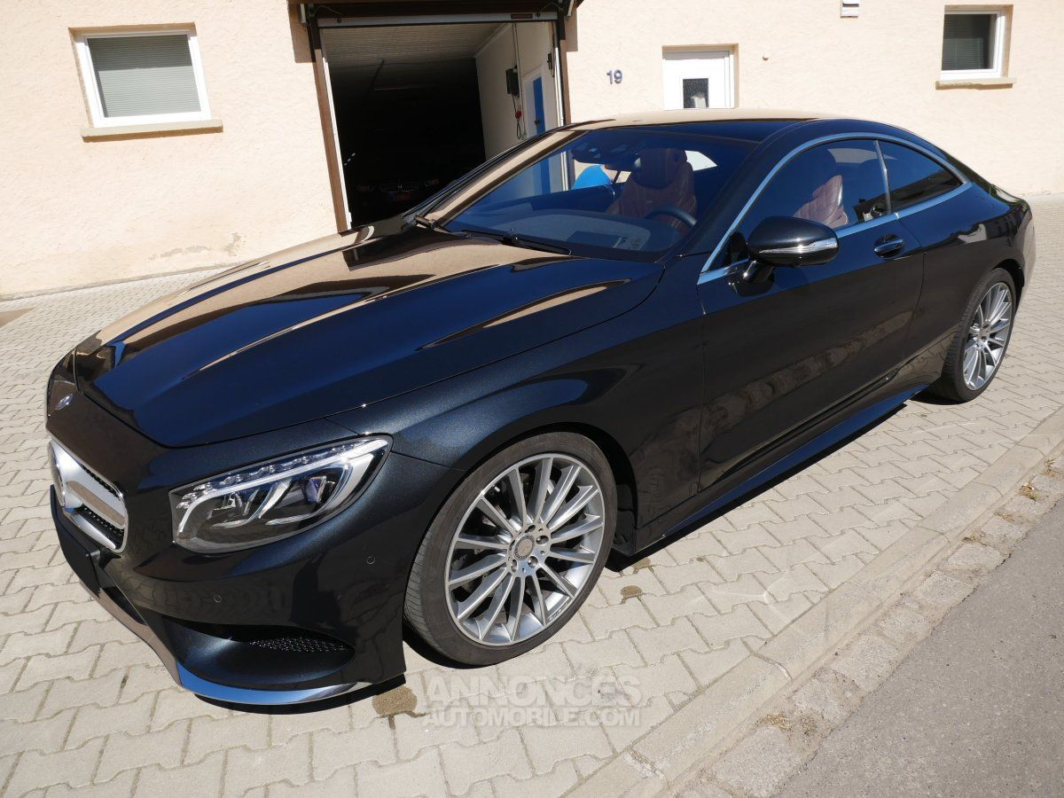 mercedes classe s 500 coup 4matic pack amg pack exclusif keyless cam 360 distronic noir. Black Bedroom Furniture Sets. Home Design Ideas
