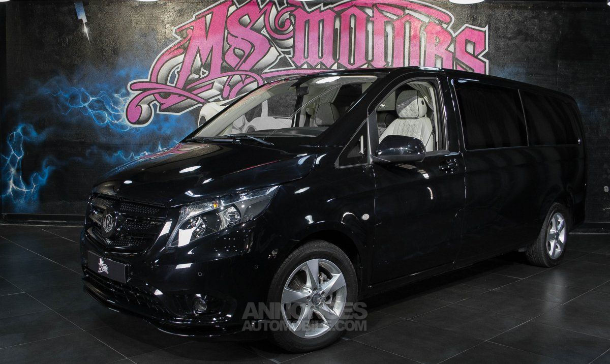 mercedes vito iii tourer 119 extra long vip jet noir metal occasion cannes 6 alpes maritimes. Black Bedroom Furniture Sets. Home Design Ideas