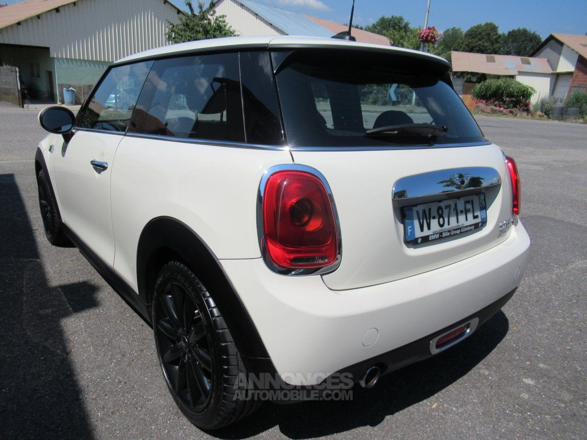 mini cooper 136 pepper white occasion rantzwiller haut rhin 68 n 3979875. Black Bedroom Furniture Sets. Home Design Ideas