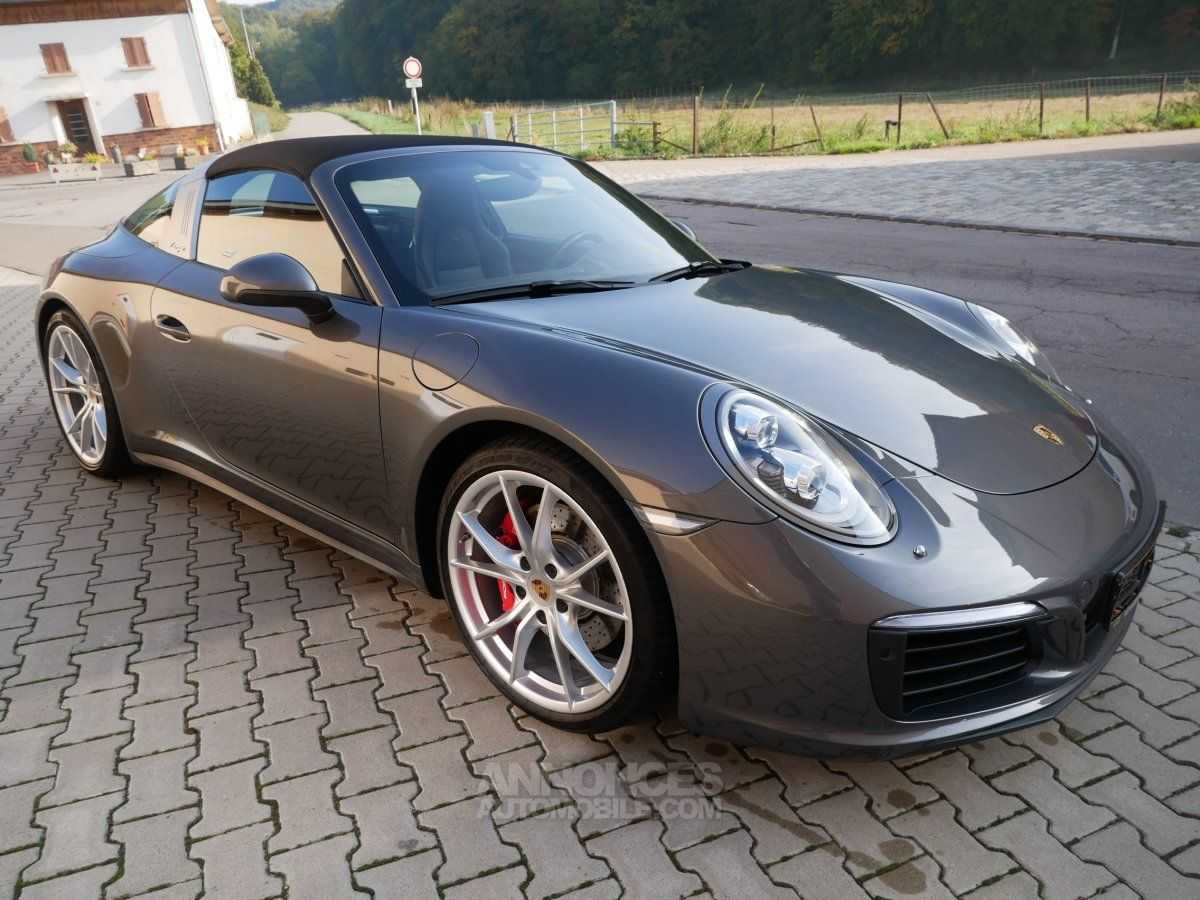 Annonce porsche 991 911 targa 4s pdk 420 chrono led for Camera targa