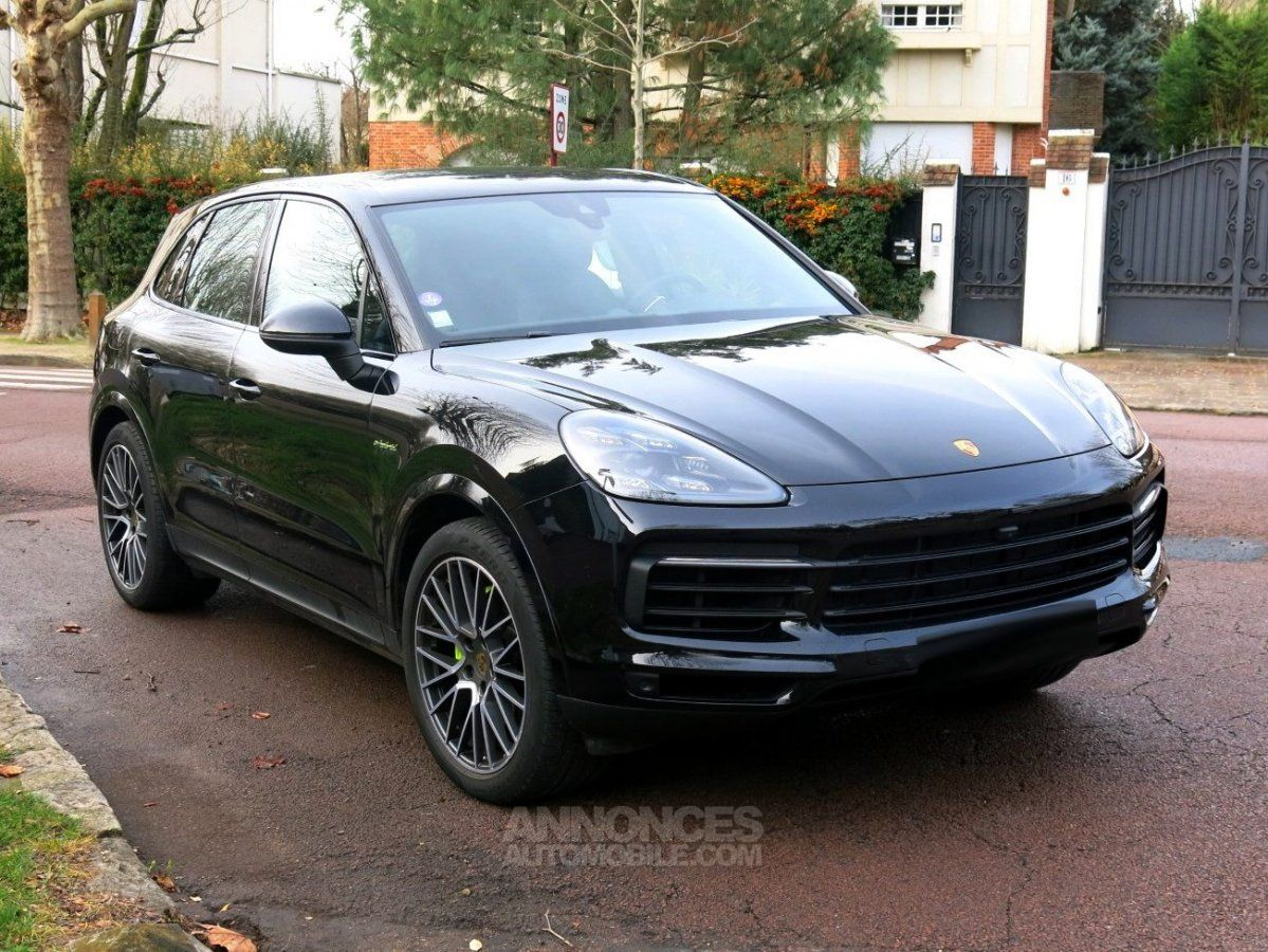 porsche cayenne s e hybrid noir m tallis occasion paris 75 paris n 4199481 annonces. Black Bedroom Furniture Sets. Home Design Ideas