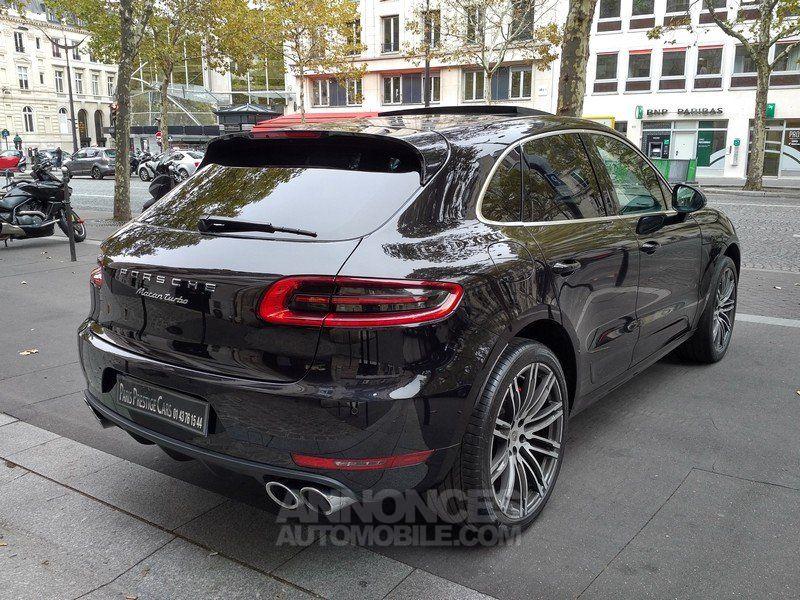 porsche macan turbo pdk noir metal occasion paris 75 paris n 4088692 annonces automobile. Black Bedroom Furniture Sets. Home Design Ideas