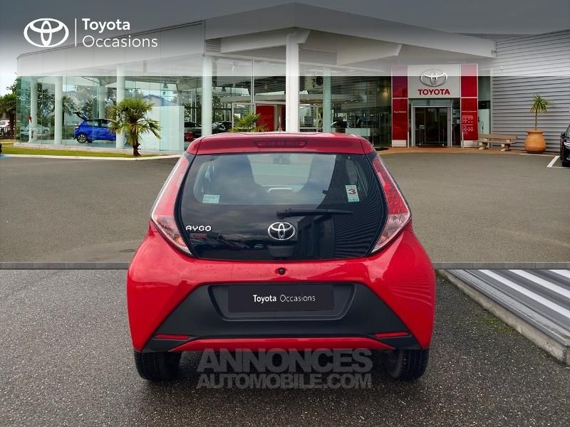 Toyota Aygo 1.0 VVT-i 69ch x-red 3p - <small></small> 8.290 € <small>TTC</small> - #4