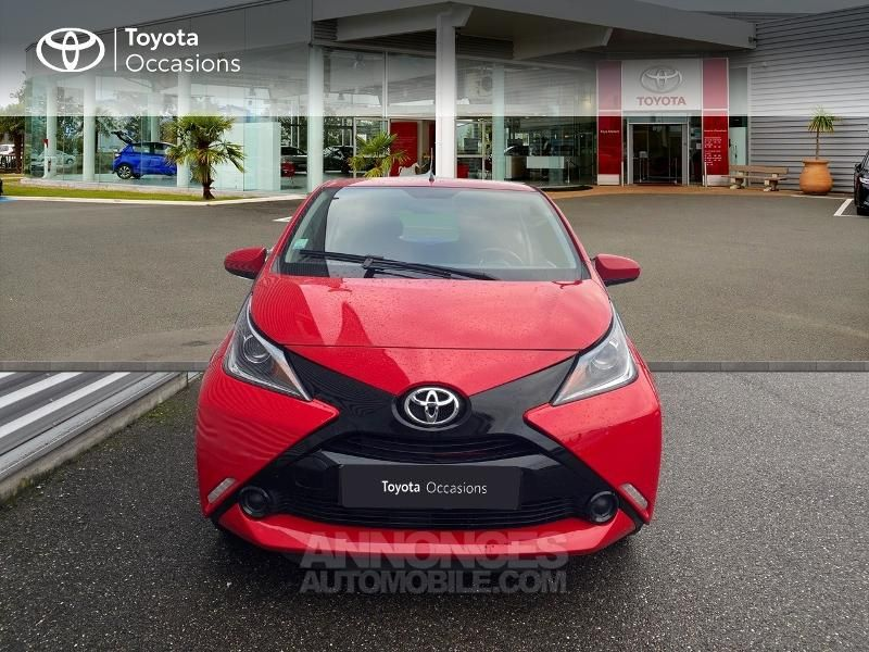 Toyota Aygo 1.0 VVT-i 69ch x-red 3p - <small></small> 8.290 € <small>TTC</small> - #5