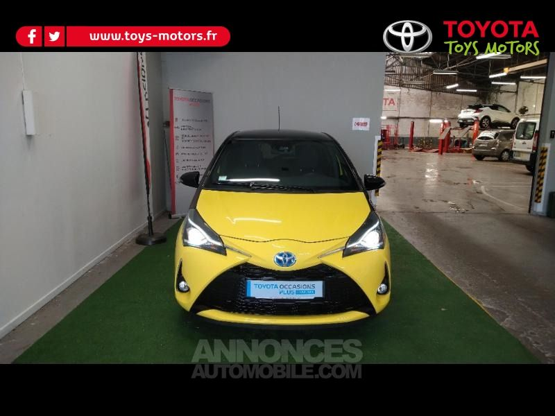 Toyota Yaris 100h Collection Jaune 5p - <small></small> 17.990 € <small>TTC</small> - #1