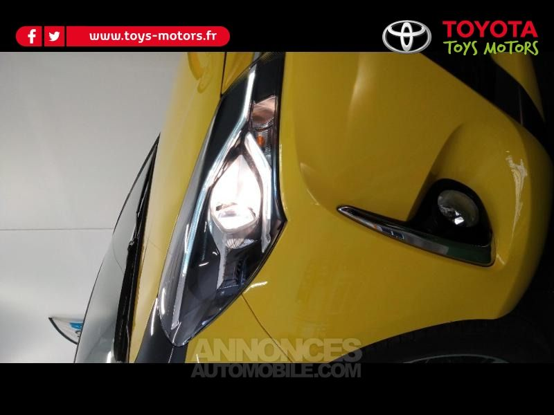 Toyota Yaris 100h Collection Jaune 5p - <small></small> 17.990 € <small>TTC</small> - #8