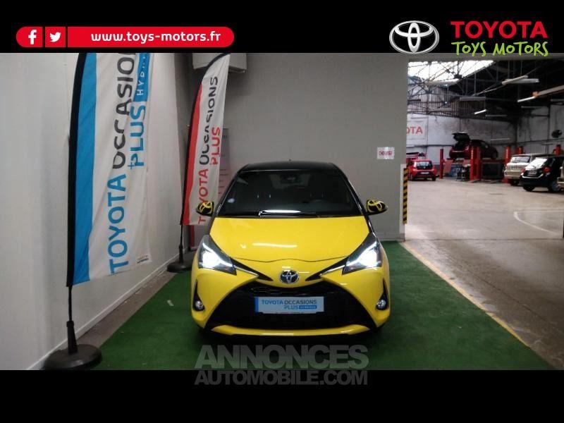 Toyota Yaris 100h Collection Jaune 5p - <small></small> 16.390 € <small>TTC</small> - #1