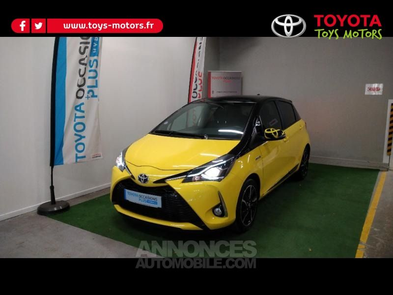Toyota Yaris 100h Collection Jaune 5p - <small></small> 16.390 € <small>TTC</small> - #2