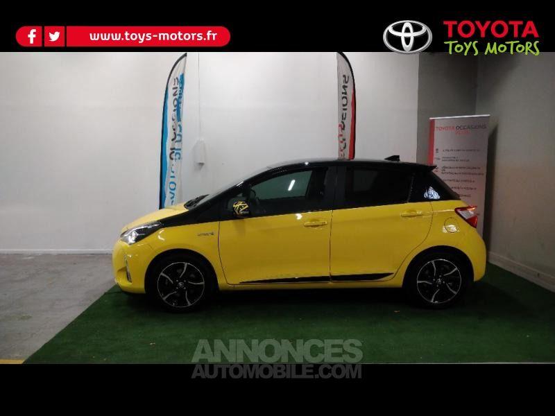 Toyota Yaris 100h Collection Jaune 5p - <small></small> 16.390 € <small>TTC</small> - #3