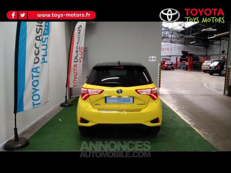 Toyota Yaris 100h Collection Jaune 5p - <small></small> 16.390 € <small>TTC</small> - #4