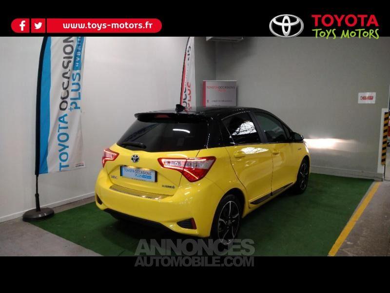 Toyota Yaris 100h Collection Jaune 5p - <small></small> 16.390 € <small>TTC</small> - #5