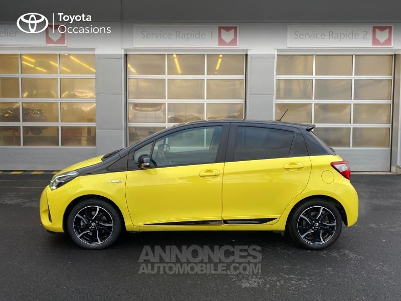 Toyota Yaris 100h Collection Jaune 5p - <small></small> 14.990 € <small>TTC</small> - #3