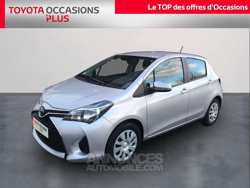 Toyota Yaris 69 Vvt I France 5p Grise Occasion A Roncq 59 Nord N