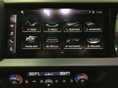 Audi A1 Sportback 30 TFSI 116ch Design Luxe S tronic 7 - <small></small> 30.700 € <small>TTC</small>