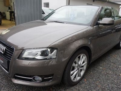 Audi A3 Cabriolet 2.0 TDI 140 DPF AMBITION LUXE (2013)