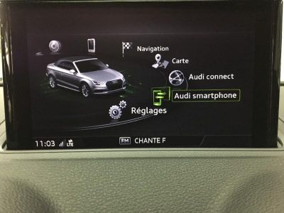 Audi A3 Cabriolet 35 TFSI 150ch Design luxe S tronic 7 Euro6d-T - <small></small> 43.800 € <small>TTC</small>
