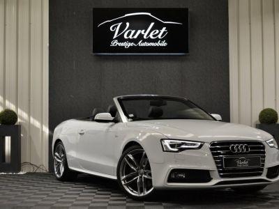 Audi A5 Superbe cabriolet 3.0 tdi v6 245ch quattro stronic sline plus 1ere main 20 camera attelage - <small></small> 24.990 € <small>TTC</small> - #1