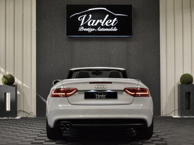 Audi A5 Superbe cabriolet 3.0 tdi v6 245ch quattro stronic sline plus 1ere main 20 camera attelage - <small></small> 24.990 € <small>TTC</small> - #5