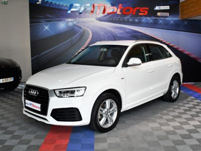 Audi Q3 S-Line Ambition 1.4 TFSI 150 S-Tronic GPS Bluetooth Drive LED Défilement JA 18 - <small></small> 21.990 € <small>TTC</small> - #2