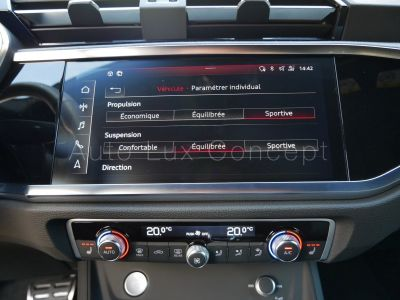 Audi Q3 Sportback S line 35 TDi S tronic, Toit pano, Matrix LED, ACC, Caméra 360°, Sièges électriques - <small></small> 53.900 € <small>TTC</small> - #17