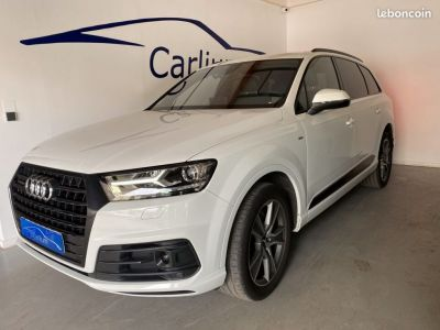Audi Q7 7 places S-line 3.0 Tdi Quattro 272 CH Virtual cockpit Voiture française - <small></small> 40.900 € <small>TTC</small> - #1