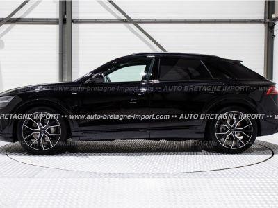 Audi Q8 50 TDI 286Ch S LINE FULL OPTIONS (Pano, air suspension, HdUp, B&O, Matrix LED, cuir, 360, pack black...) 2019 - <small></small> 97.916 € <small>TTC</small>