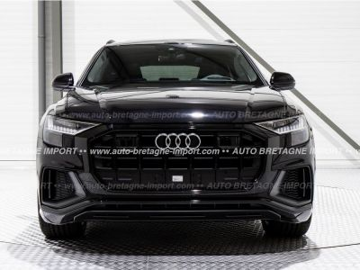Audi Q8 50 TDI 286Ch S LINE FULL OPTIONS (Pano, air suspension, HdUp, B&O, Matrix LED, cuir, 360, pack black...) 2019 - <small></small> 95.897 € <small>TTC</small>