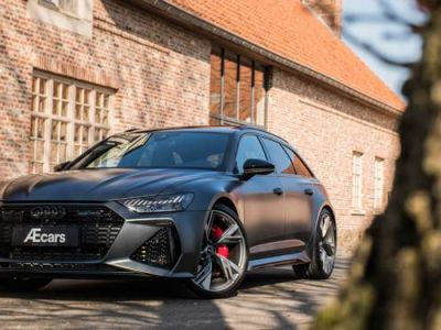 Audi RS6 LASER - LIGHT UTILITY - BELGIAN - 1 OWNER - <small></small> 144.950 € <small>TTC</small> - #1