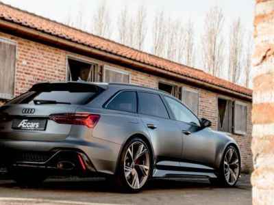 Audi RS6 LASER - LIGHT UTILITY - BELGIAN - 1 OWNER - <small></small> 144.950 € <small>TTC</small> - #4