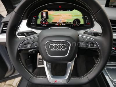 Audi SQ7 4.0 TDi 435 Quattro Tiptronic, Toit Panoramique, Matrix LED, ACC, Caméra 360°, Affichage Tête Haute, Virtual Cockpit, Attelage - <small></small> 78.900 € <small>TTC</small>