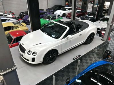 Bentley Continental GTC Supersports 6.0 630 W12 - <small></small> 127.990 € <small>TTC</small>