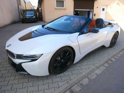 BMW i8 Roadster, Phares Laser, Affichage tête haute, Harman Kardon, DAB, Apple CarPlay - <small></small> 129.900 € <small>TTC</small>