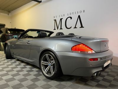 BMW M6 cabriolet v10 507ch e64 2007 - <small></small> 44.990 € <small>TTC</small> - #2