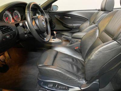 BMW M6 cabriolet v10 507ch e64 2007 - <small></small> 44.990 € <small>TTC</small> - #8