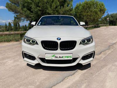 BMW Série 2 Cabriolet 220iA 184ch M Sport - <small></small> 22.900 € <small>TTC</small> - #4