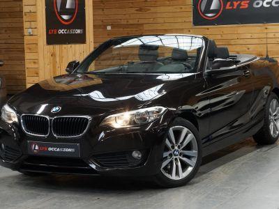 BMW Série 2 (F23) CABRIOLET 220D LUXURY BVA8 - <small></small> 20.990 € <small>TTC</small> - #1