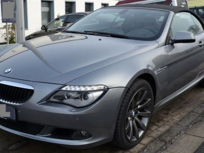 BMW Série 6 630I Aut 272 Cabriolet luxe (07/2010) - <small></small> 26.900 € <small>TTC</small>