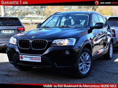 BMW X3 F25 LUXE 18 D S DRIVE BVM6 - <small></small> 19.490 € <small>TTC</small> - #1
