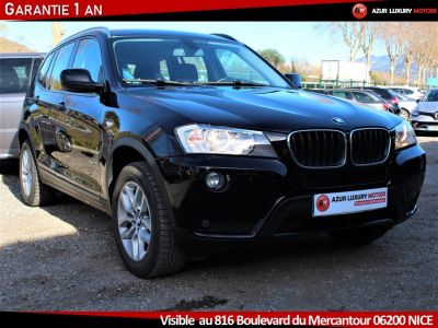 BMW X3 F25 LUXE 18 D S DRIVE BVM6 - <small></small> 19.490 € <small>TTC</small> - #2
