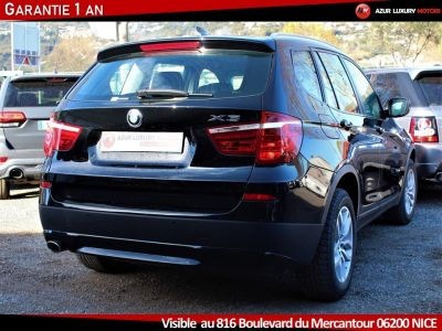 BMW X3 F25 LUXE 18 D S DRIVE BVM6 - <small></small> 19.490 € <small>TTC</small> - #3
