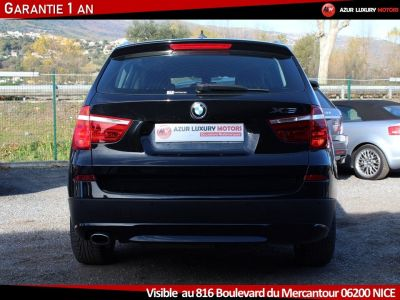 BMW X3 F25 LUXE 18 D S DRIVE BVM6 - <small></small> 19.490 € <small>TTC</small> - #4