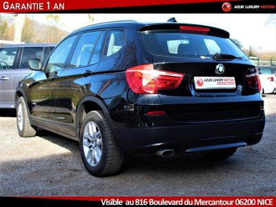 BMW X3 F25 LUXE 18 D S DRIVE BVM6 - <small></small> 19.490 € <small>TTC</small> - #5