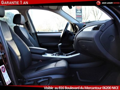 BMW X3 F25 LUXE 18 D S DRIVE BVM6 - <small></small> 19.490 € <small>TTC</small> - #6