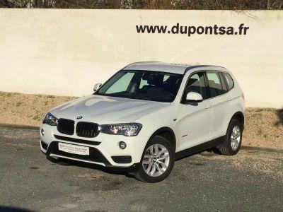 BMW X3 sDrive18dA 150ch Lounge Plus - <small></small> 28.490 € <small>TTC</small>