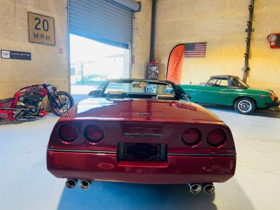 Chevrolet Corvette C4 CABRIOLET 5.7 V8 L98 EN FRANCE - <small></small> 17.990 € <small>TTC</small> - #14