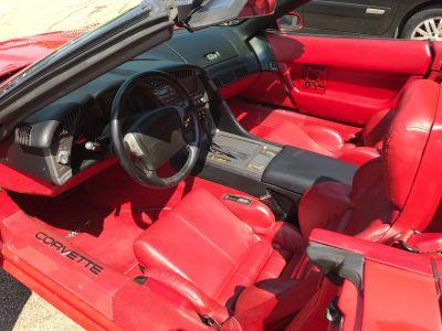 Chevrolet Corvette C4 CONVERTIBLE 5,7l V8 350CI Injection En France - <small></small> 22.000 € <small>TTC</small> - #12