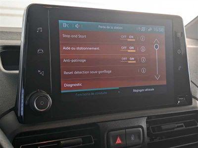 Citroen BERLINGO FOURGON M 1000Kg BlueHDi 100 s&s BVM Driver - <small></small> 20.280 € <small>TTC</small> - #11