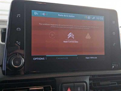 Citroen BERLINGO FOURGON M 1000Kg BlueHDi 100 s&s BVM Driver - <small></small> 20.280 € <small>TTC</small> - #12